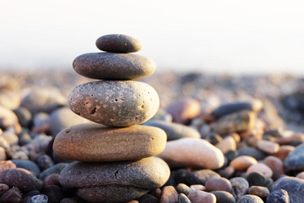 камни галька на пляже