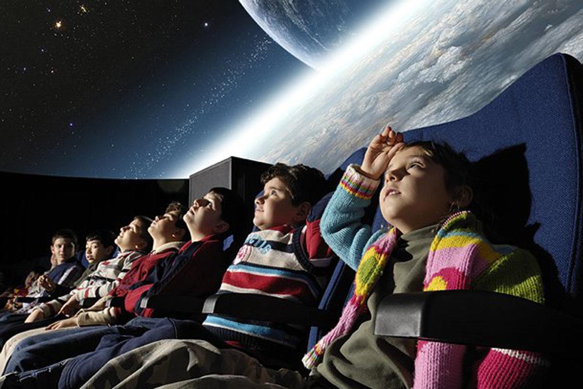 Как мы с Ромкой ходили в планетарий