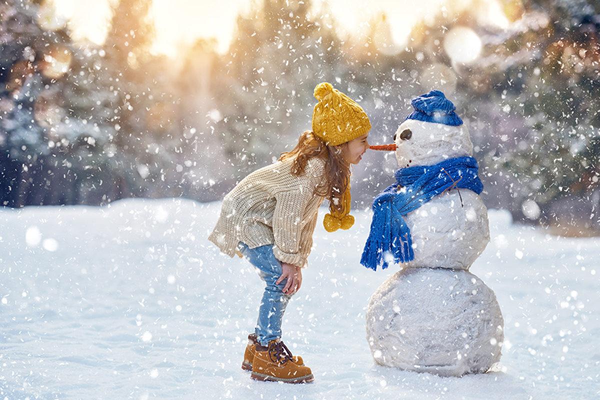 Особенности развития ребенка в зимний период