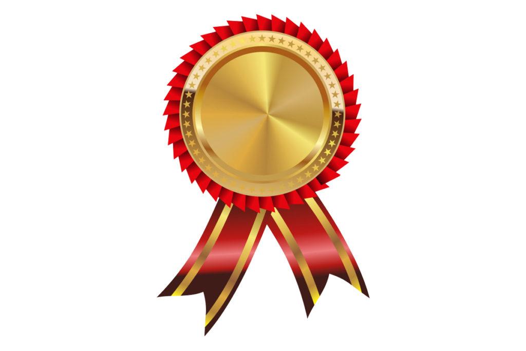 медаль первое место